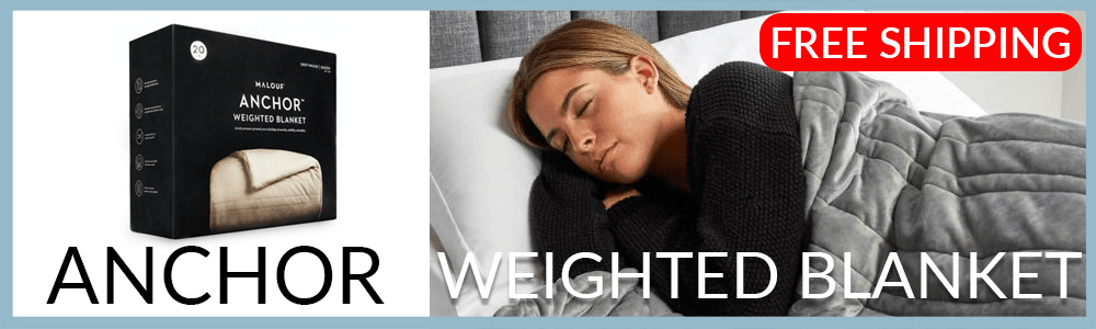 malouf anchor weighted blankets